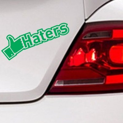 Avto nalepka Like Haters