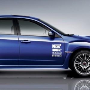 Avto nalepka Nos, K&N, Sparco, Pirelli