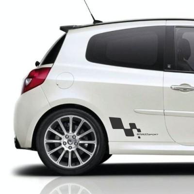 Avto nalepka Renault Sport