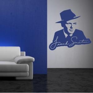Stenska nalepka Frank Sinatra