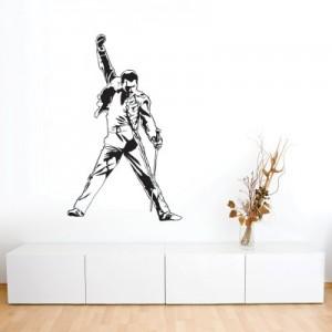 Stenska nalepka Freddie Mercury