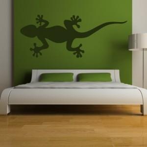 Stenska nalepka Gecko