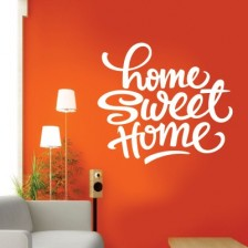 Stenska nalepka Home Sweet Home