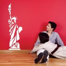 Stenska nalepka Kip svobode