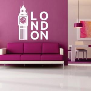 Stenska nalepka London