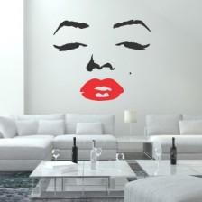 Stenska nalepka Marilyn Monroe 3