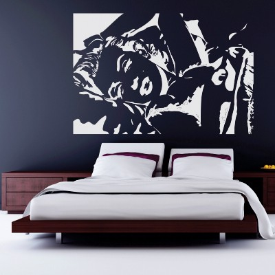 stenska nalepka marilyn monroe dekorativne nalepke. Black Bedroom Furniture Sets. Home Design Ideas
