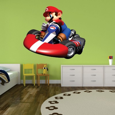 Stenska nalepka Mario kart