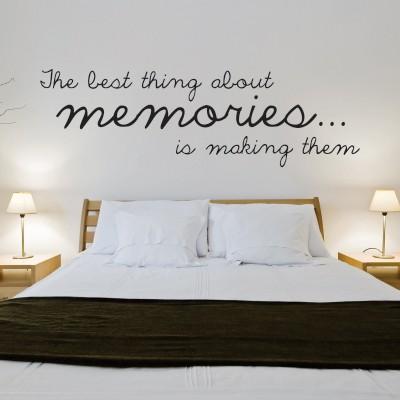 Stenska nalepka Memories