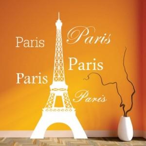 Stenska nalepka Paris