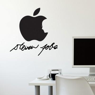 Stenska nalepka Steve Jobs