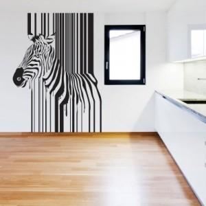 Stenska nalepka Zebra 3
