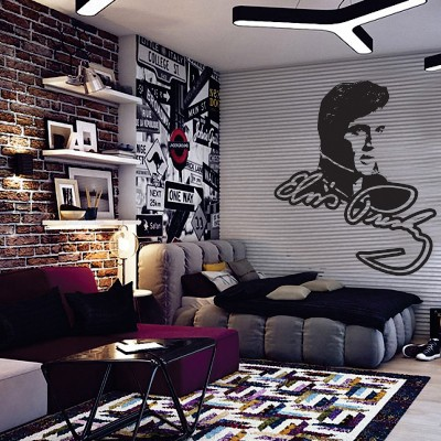Dekorativna nalepka Elvis Presley