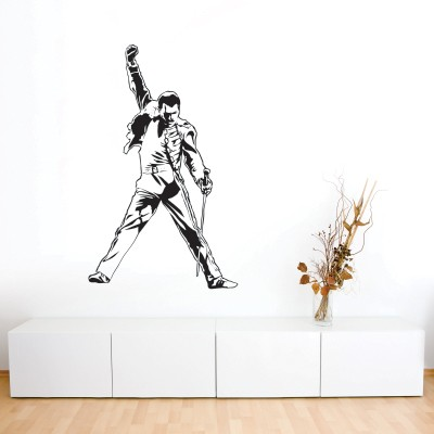 Dekorativna nalepka Freddie Mercury