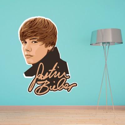 Dekorativna nalepka Justin Bieber