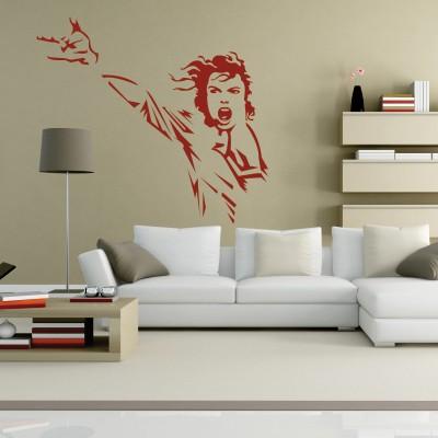 Dekorativna nalepka Michael Jackson