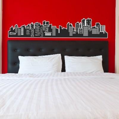 Nalepka City Skyline