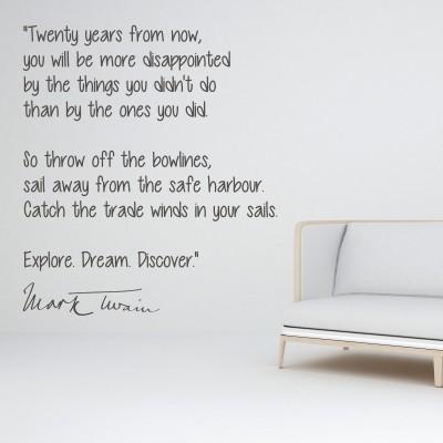 Nalepka Explore Dream Discover