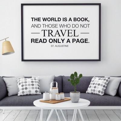 Nalepka The World is a Book