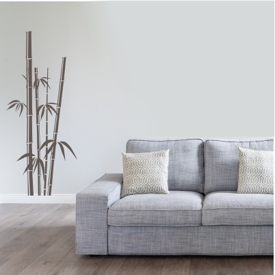 Stenska nalepka Bambusove palice