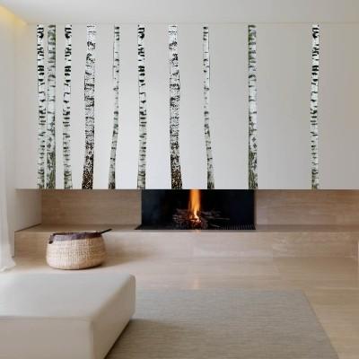 Stenska nalepka Bela breza