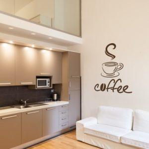 Stenska nalepka Coffee