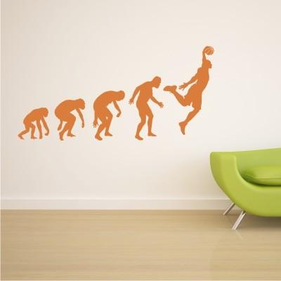 Stenska nalepka Evolucija košarke