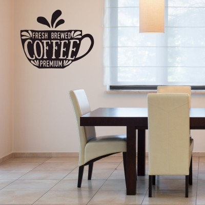 Stenska nalepka Fresh Coffee