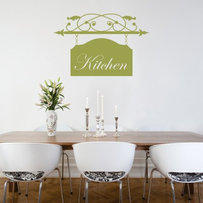 Stenska nalepka Kitchen