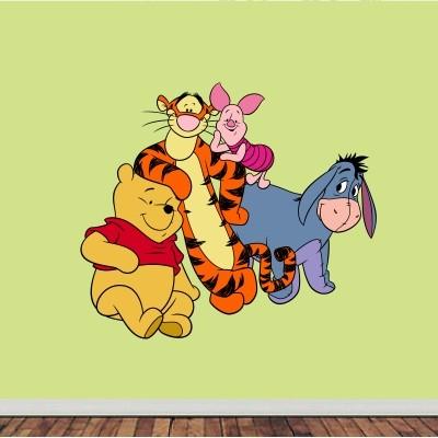 Stenska nalepka Medvedek Pu in prijatelji