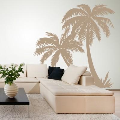 Stenska nalepka Palmino drevo