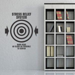Stenska nalepka Stress Relief System