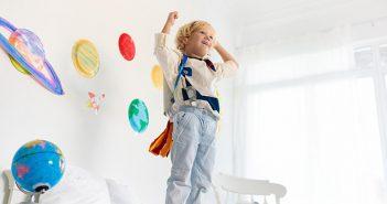 Dekorativne nalepke za otroško sobo