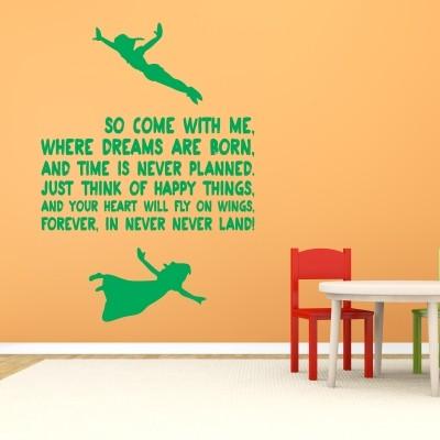 Stenska nalepka Neverland